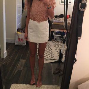 White skirt from TopShop